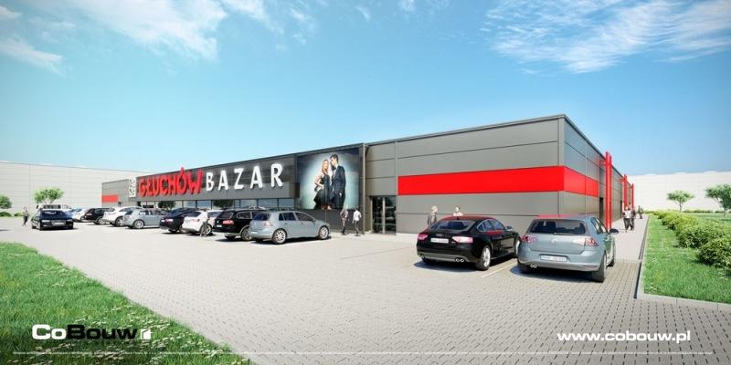The Bazar Głuchów shopping center