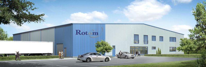 Building for Dutch company Rotom Polska Sp. z o.o.