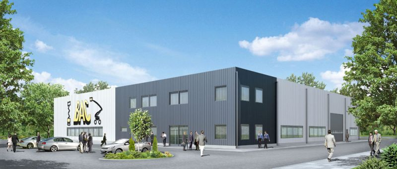 Turn-key building for BAC INVESTMENT POLSKA sp. z o.o.