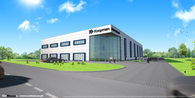 General Contracting for Dutch company Koopman International B.V. sp. z o.o.