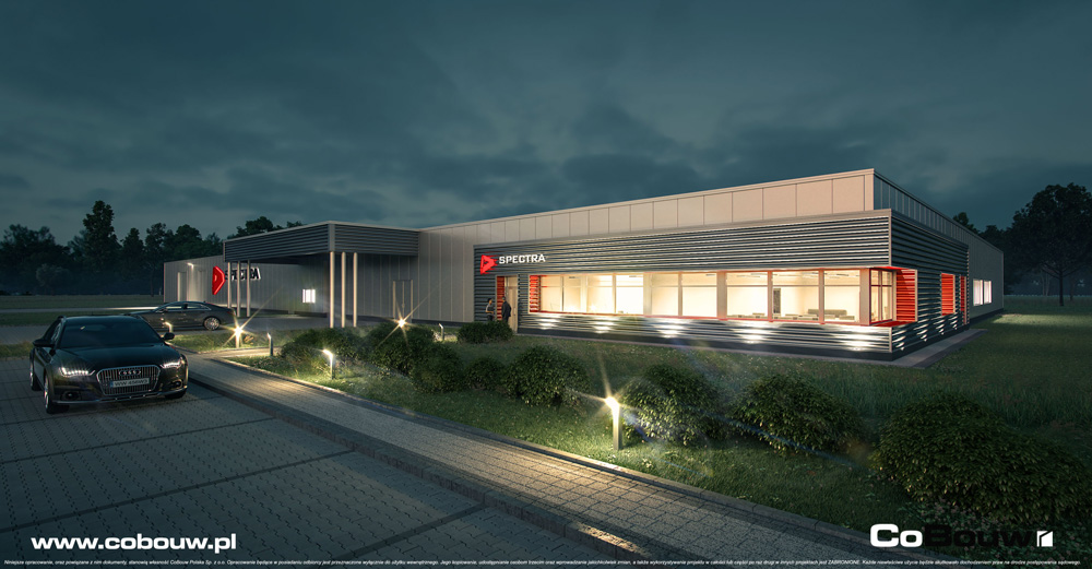 Turnkey Project For Spectra Lighting Cobouw