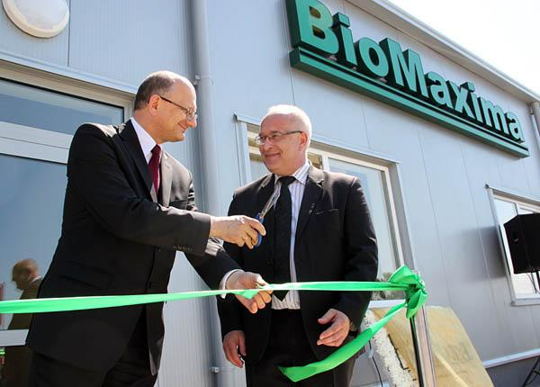 An Official opening BIOMAXIMA S.A.