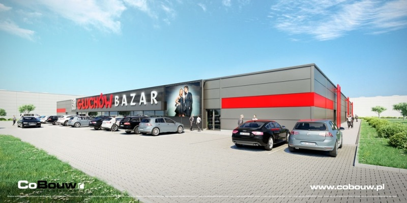 The Bazar Głuchów shopping center