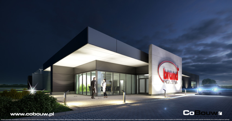 General contracting for the construction of a hall for Brand Polska Sp. z o.o