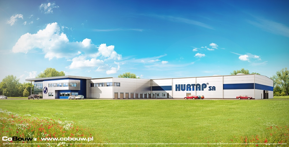 Construction for the HURTAP Company S.A.