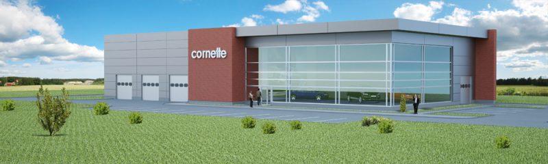 The third hall for the polish company Cornette