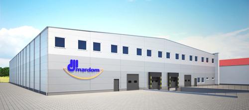 Turn key building for company MARDOM