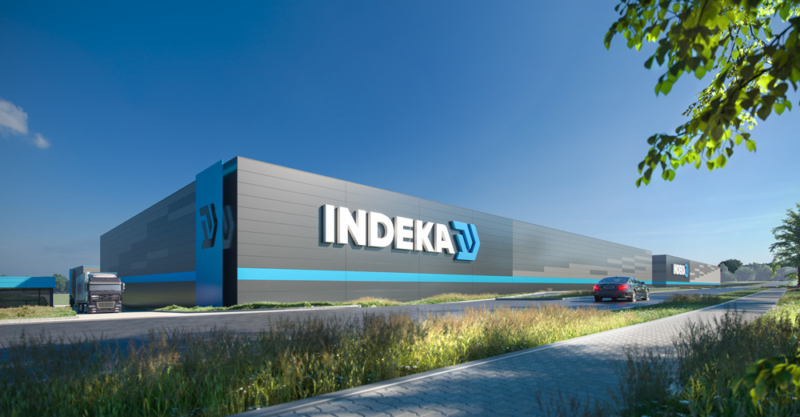 General constructor of a warehouse for Indeka Logistic City Sp. z o.o.