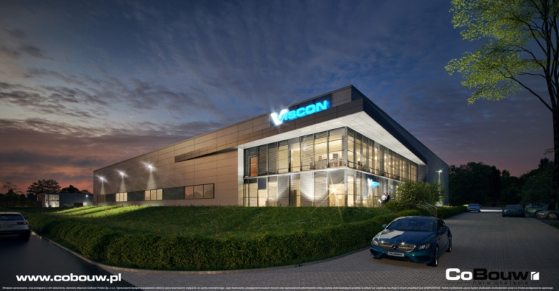 Construction of a production and warehouse hall for Viscon Real Estate Poland