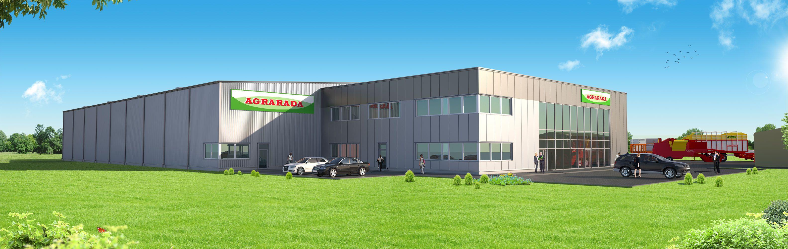 Construction of a warehouse hall for Agrarada Sp. z o. o.