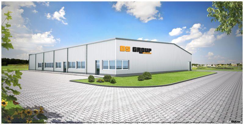 Building for company DS GROUP Sp. z o.o.