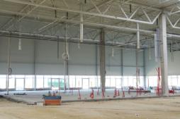 podejścia instalacji sanitarnych - hala handlowa, Kosmet Hurt, Biała Podlaska, lubelskie