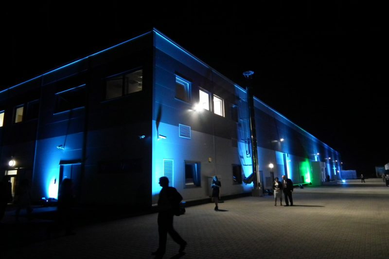 Opening ceremony of Arsanit production-warehouse hall