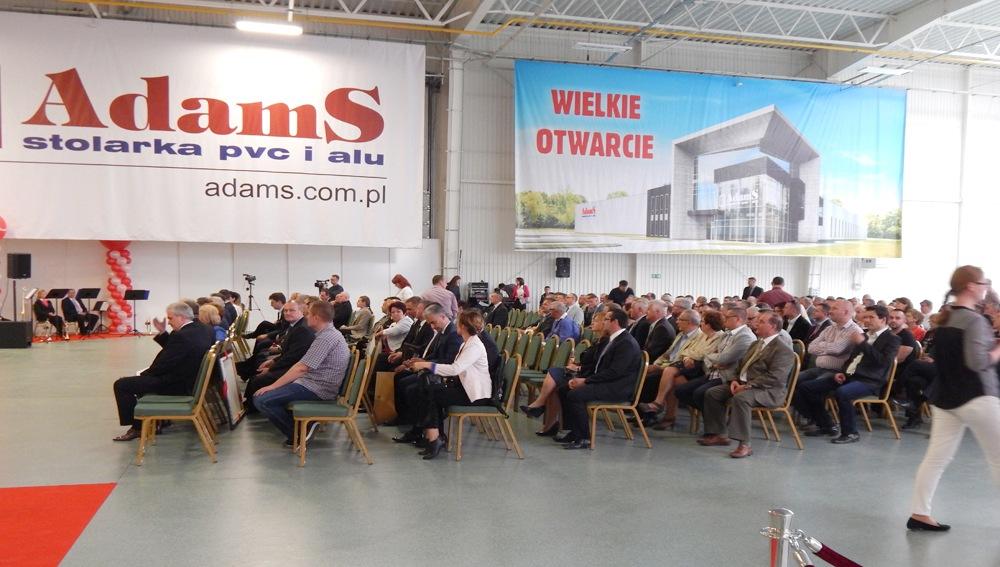 AdamS building opening ceremony