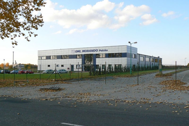 Extension of the production hall for OML MORANDO POLSKA sp.zo.o.