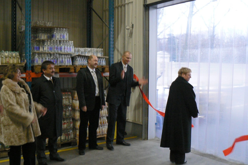 The official opening of the ARIMEX DAMIS warehouse