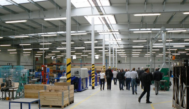 Official opening a production plant of the HG POLAND Sp. z o.o.