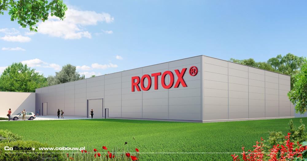 Execution of the production hall for company Rotox sp.zo.o.