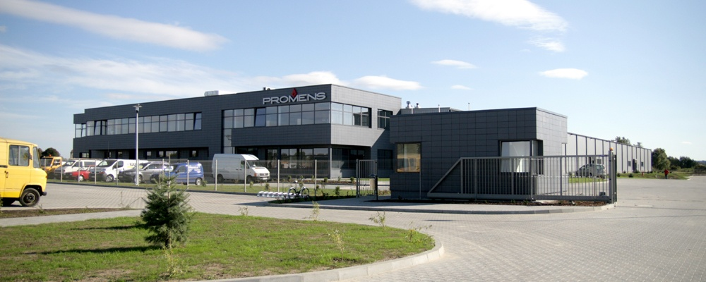 Oficial oppening of production hall for Island company Promens sp.zo.o.