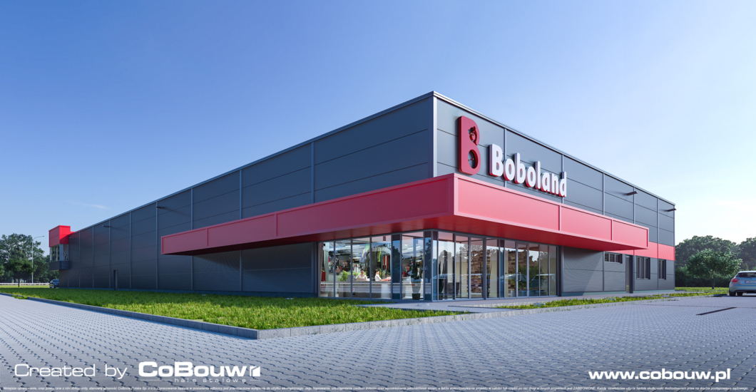 General contracting of the shopping hall for Boboland