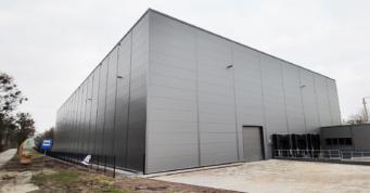 elewacja hali z płyt warstwowych - inwestcyja dla firmy Grupa INco SA, Susz,