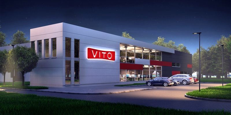 Construction of warehouse-production hall for Vito Polska Sp. z o.o.