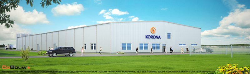 Turn key building for KORONA S.A.