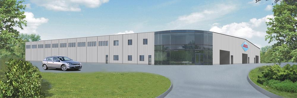 Building for Polish company Glass Produkt
