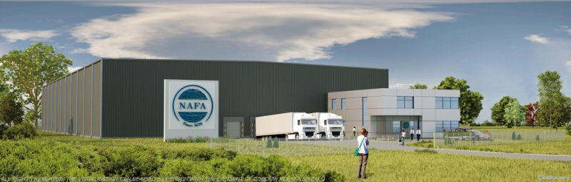 Building for Dutch company NAFA POLSKA sp.zo.o.