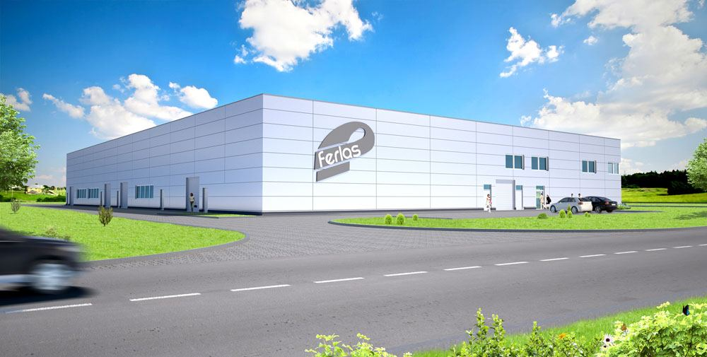 Construction for FERLAS IMPORT EXPORT sp.zo.o.