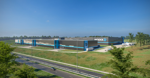 Expansion of a logistics centre for Indeka Logistic City