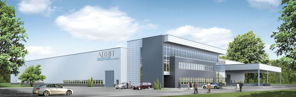 Building of a production hall for Dutch company Addit sp.zo.o.