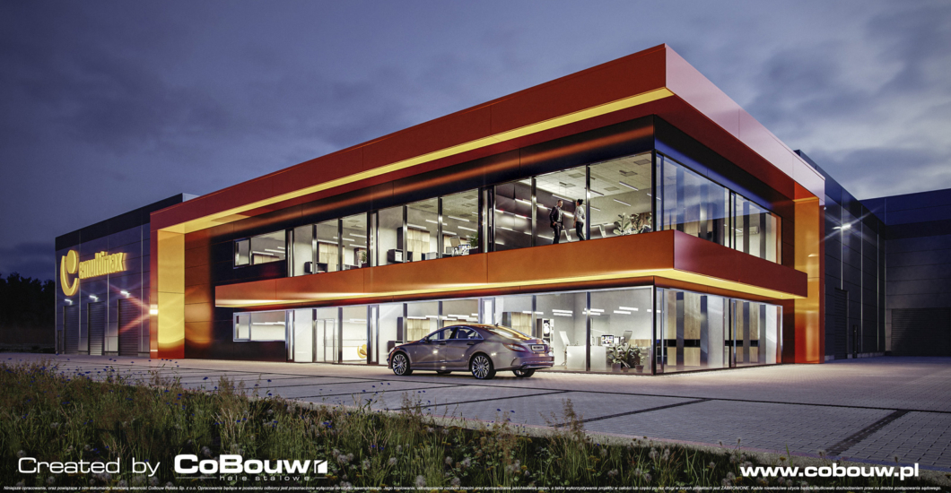 MULTIMAX - hall for a manufacturer from the heating industry