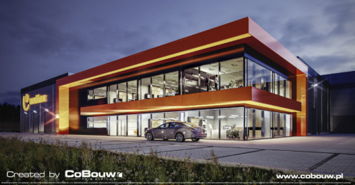 MULTIMAX – hall for a manufacturer from the heating industry