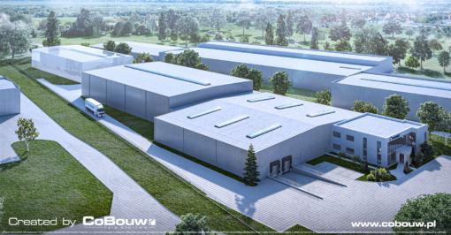 Warehouse for a logistics company Poltrakt
