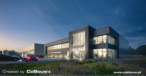 """A production plant built in the """"design and build"""" system for Kentaur Production Sp. z o.o."""