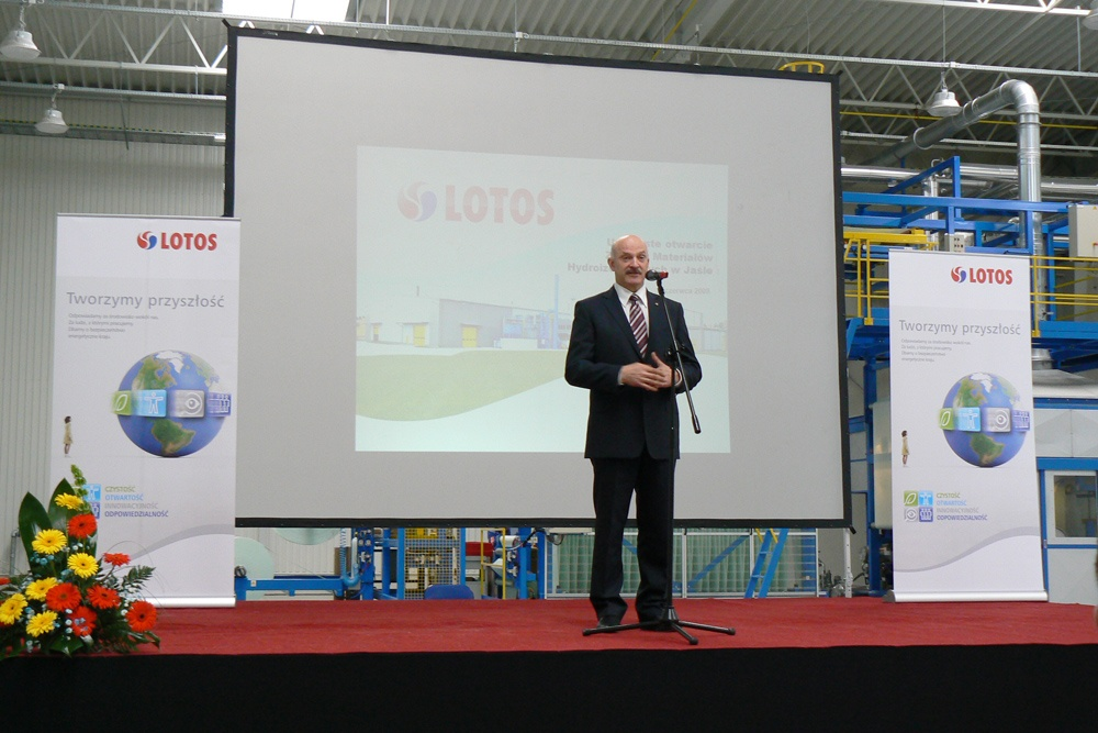Official opening of new factory LOTOS ASFALT in Jasło